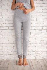 Б2437 штаны серый меланж для беременных