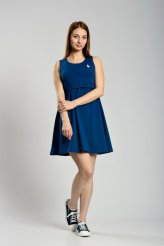 б2293 платье-майка для кормления синее