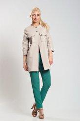 2038 летнее пальто джинс с кнопками