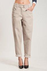 1901 брюки беж. джинс бойфренды