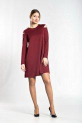 платье Эльмира вишневое