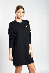 """б2204 платье-свитер """"Смайлик"""""""