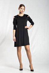 б2201 платье Эльмира черное
