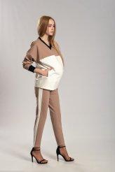 Б2661 брюки трикотажные с лампасами для беременных