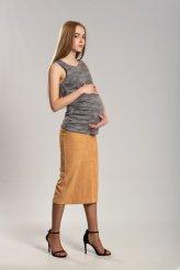 Б2668 майка серая для беременных