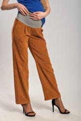 Б2650 брюки для беременных бежевый вельвет